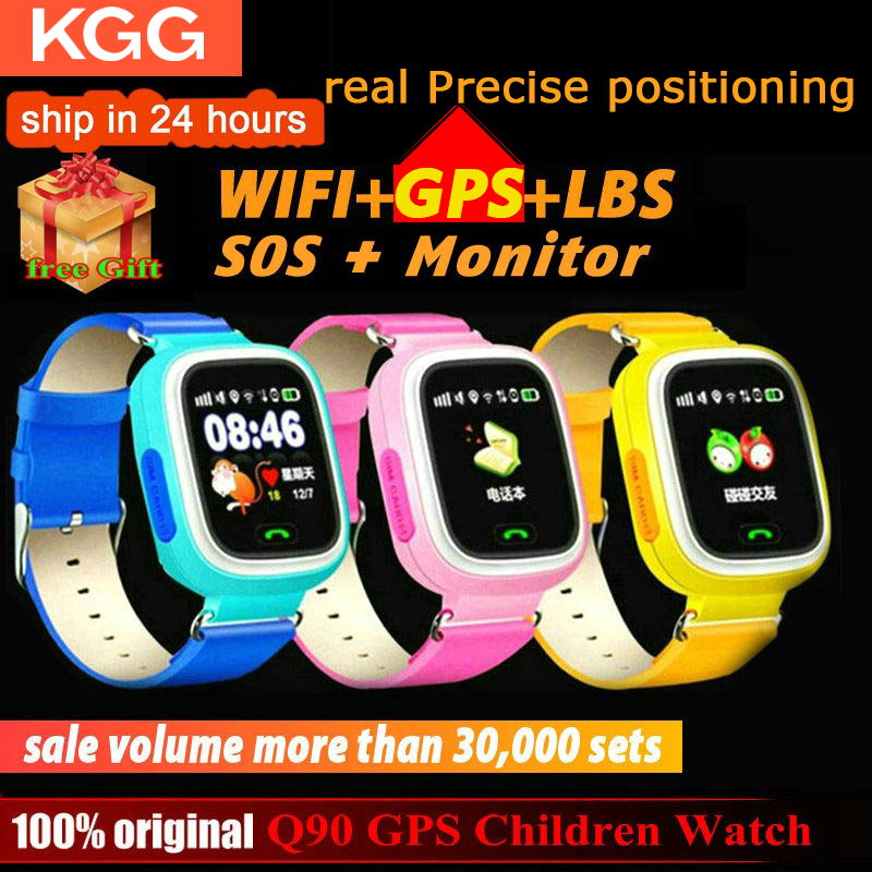 Q90 GPS Child Smart Watch Phone Position Kids Watch WIFI SOS 1.22inch Color Touch Screen Smart Baby Watch VS Q12 Q15|smart watch baby|phone positssmart watch - AliExpress