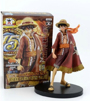 17cm Anime One Piece Luffy Action Figures Juguetes  PVC Figures Model Toys Christmas Birthday Gift Toy 1 18 joytoy action figures hardcore us army paladin military soldier figure model toys collection toy anime christmas gift