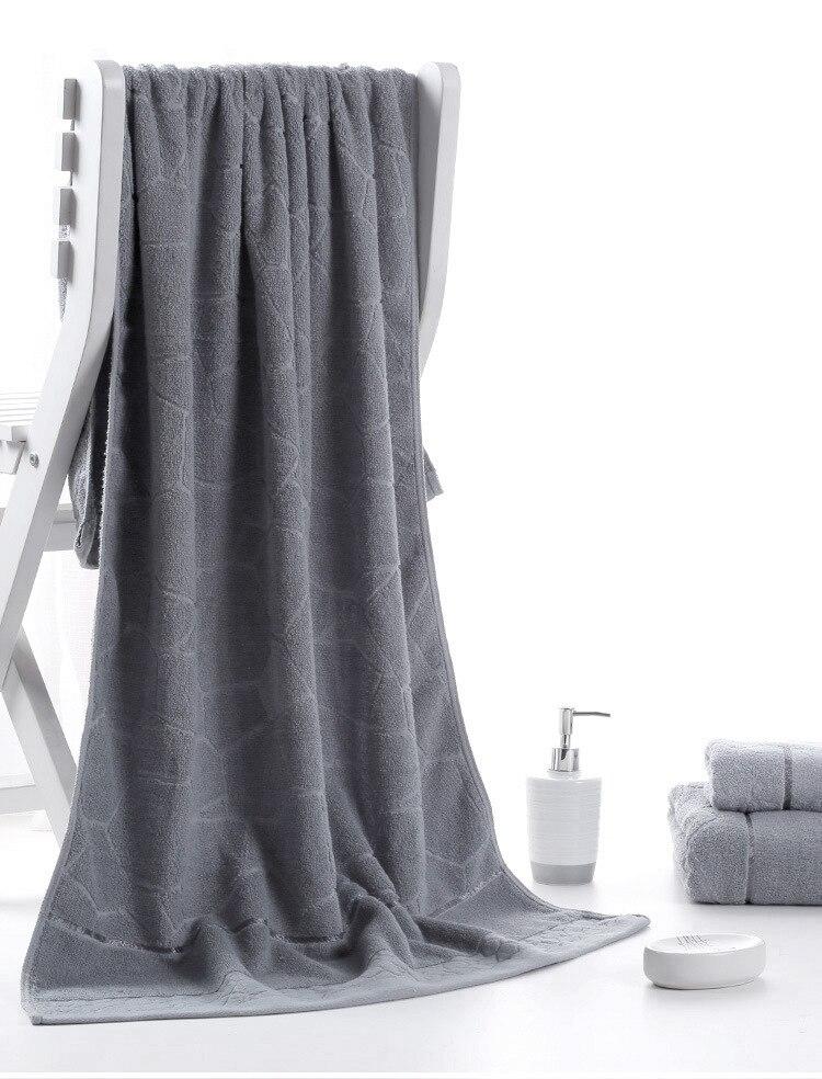 140x70cm Bath Towels 100 Cotton towel 6 Colors Avaliable Cotton Fiber Natural Eco friendly Embroidered Bath