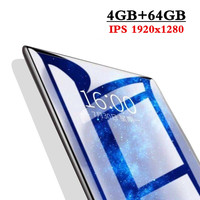 2020 New 10.1 inch the Tablet Android 9.0 8 Core 4GB RAM + 64GB ROM Dual Camera 8MP SIM Tablet PC Wifi GPS FM 3G 4G Lte phone
