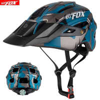 BATFOX Bicycle Helmet Black Ink Green Cycling Helmets MTB Road Mountain Bike Helmet Inner Cap casco Capacete Da Bicicleta Helmet