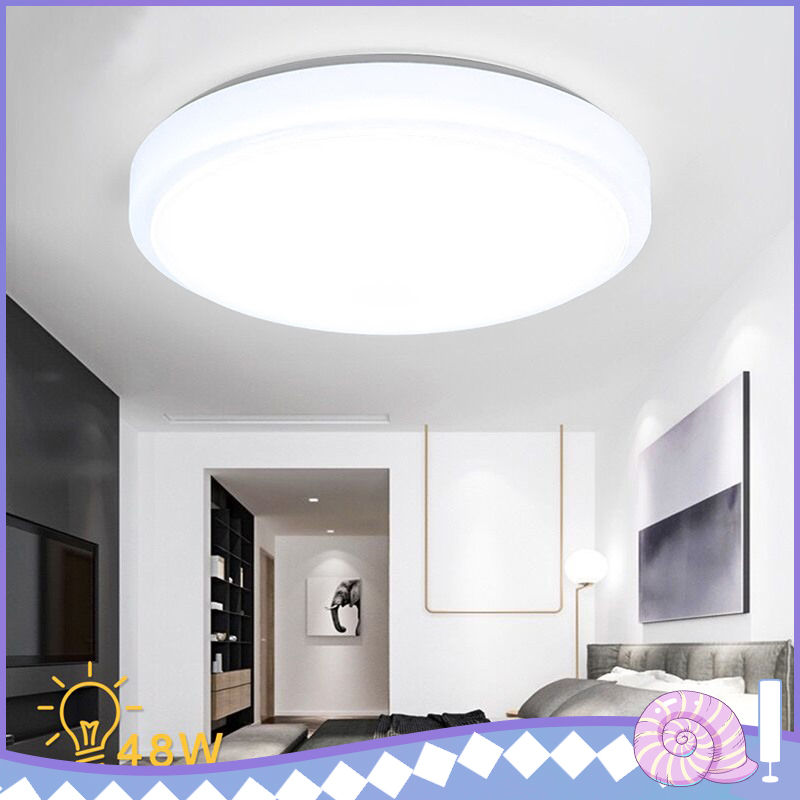 40cm High Quality 24-48W LED Ceiling Light White Light Mount Lamp Living Room Kitchen Bedroom Ceiling Lights Lampd Round Style