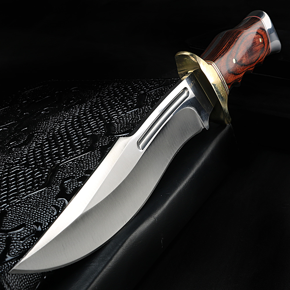 Outdoor knife fixed blade short knife high quality military knife camping hunting self-defense knife(China)