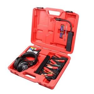 Image 5 - Combinazione Kit stetoscopio elettronico meccanico Auto strumento diagnostico rumore strumenti meccanici automatici a sei canali