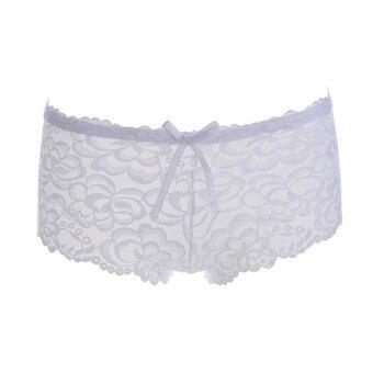 Women's Low Waist Hollow Jacquard Quarter Pants Exotic Apparel Panties & Briefs Novelty & Special Use 10