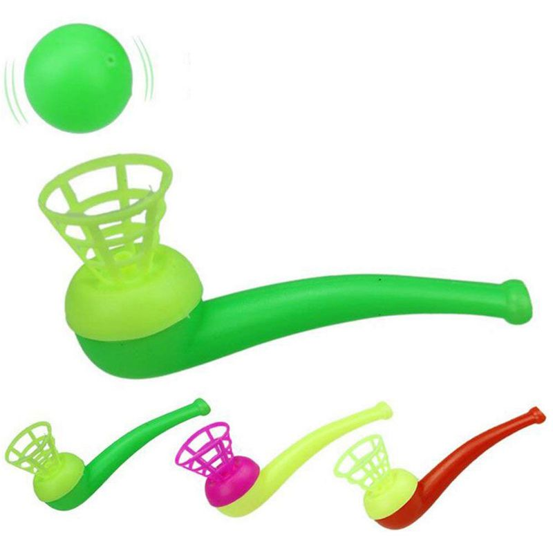 Blowing Suspension Ball Blower Puzzle Toy Gift