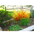 Sculpture en verre de Murano 20 pouces Sculpture sur pied Sculpture en plein air jardin Villa cour décoration