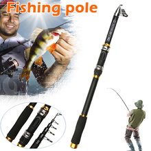 Newly Carp Fishing Rod Feeder Hard FRP Carbon Fiber Telescopic Pole BFE88