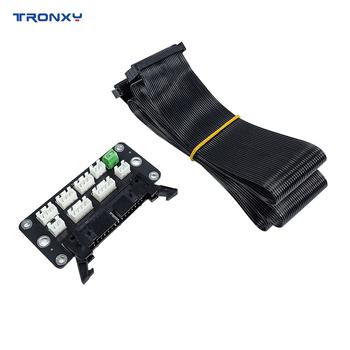 Części do drukarek 3D Tronxy wytrzymała płytka przyłączeniowa z przewodem 82cm 30Pin kompatybilna z akcesoriami do drukarek 3D XY-2 Pro X5SA tanie i dobre opinie CN (pochodzenie) Płyty łączenia for XY-2 Pro X5SA Series