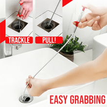 Flexible Drain Unclog Grabber Cleaning Tool Sink Hair Remover for Home Kitchen YU-Home