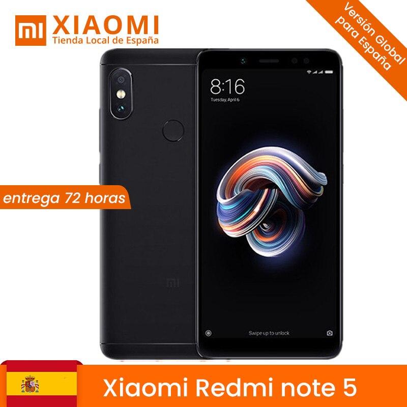 En Stock! Xiaomi Redmi Note 5 3GB 32GB téléphone Snapdragon S636 Octa Core MIUI9 5,99