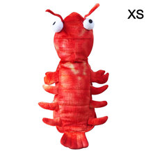 Pet Costume Interesting Cosplay Coat Lobster Shape for Cat Puppy Dog Clothes 2019 New Fashion Cute Pet dog clothes  Set10 pet cat dog nurse costume cosplay change clothes