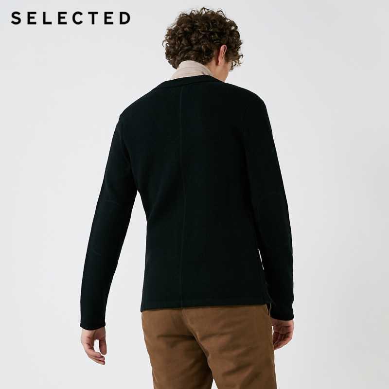 เลือกฤดูใบไม้ร่วงฤดูหนาวผู้ชายชุดสูทใหม่ปกติ Cardigan เสื้อกันหนาว S | 418425542