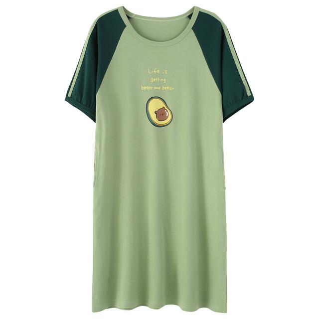 Avocado Print Night Dress