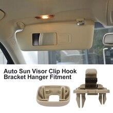 Car Sun Visor Clip Hook Bracket Hanger replacement for Audi A1 A3 A4 A5 Q3 Q5(8E0 Q5(8E0