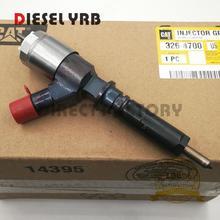 Original New Fuel Injector 326-4700 3264700 for C6 C6.4 Engine 320D 320DL for Caterpillar C6,C6.4,320D excavator new japanese original authentic sy5220 5lzd c6