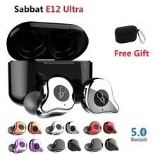 Sabbat E12 Ultra TWS Bluetooth 5.0 Earphone Wireless наушнки беспроводние Earbuds