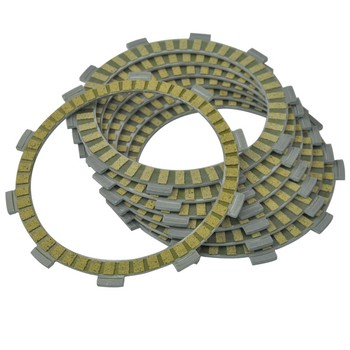 7PC Motorcycle Friction Clutch Plates kit for Honda VTR250 1988-1989 VT250C 1994-2007 CBF250 2004-2006 CB250F Hornet 1996-2007 image