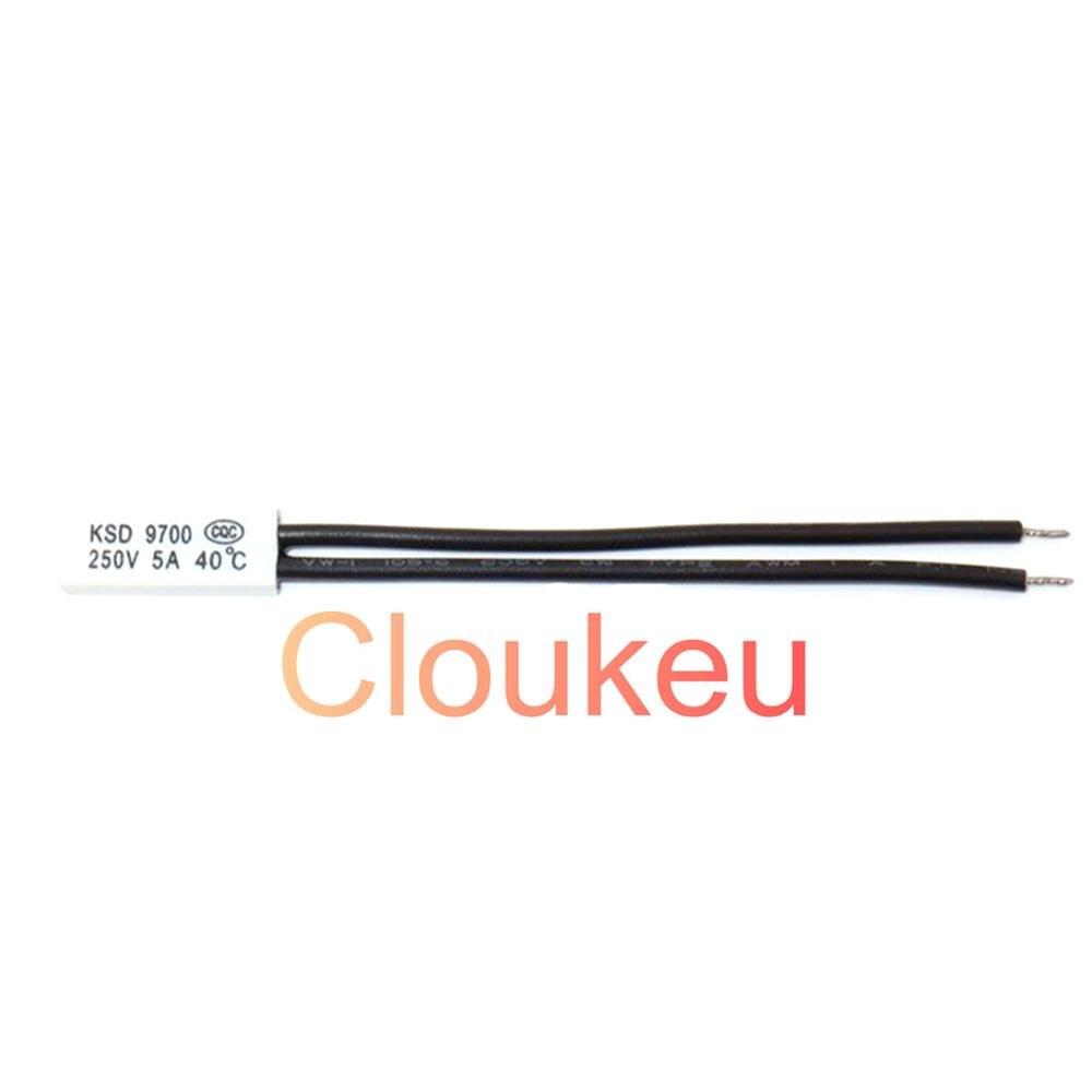 Температурный переключатель протектор пластик KSD9700 5A 250V 105/110/115/120/125/130/135/140/145/150c градусов
