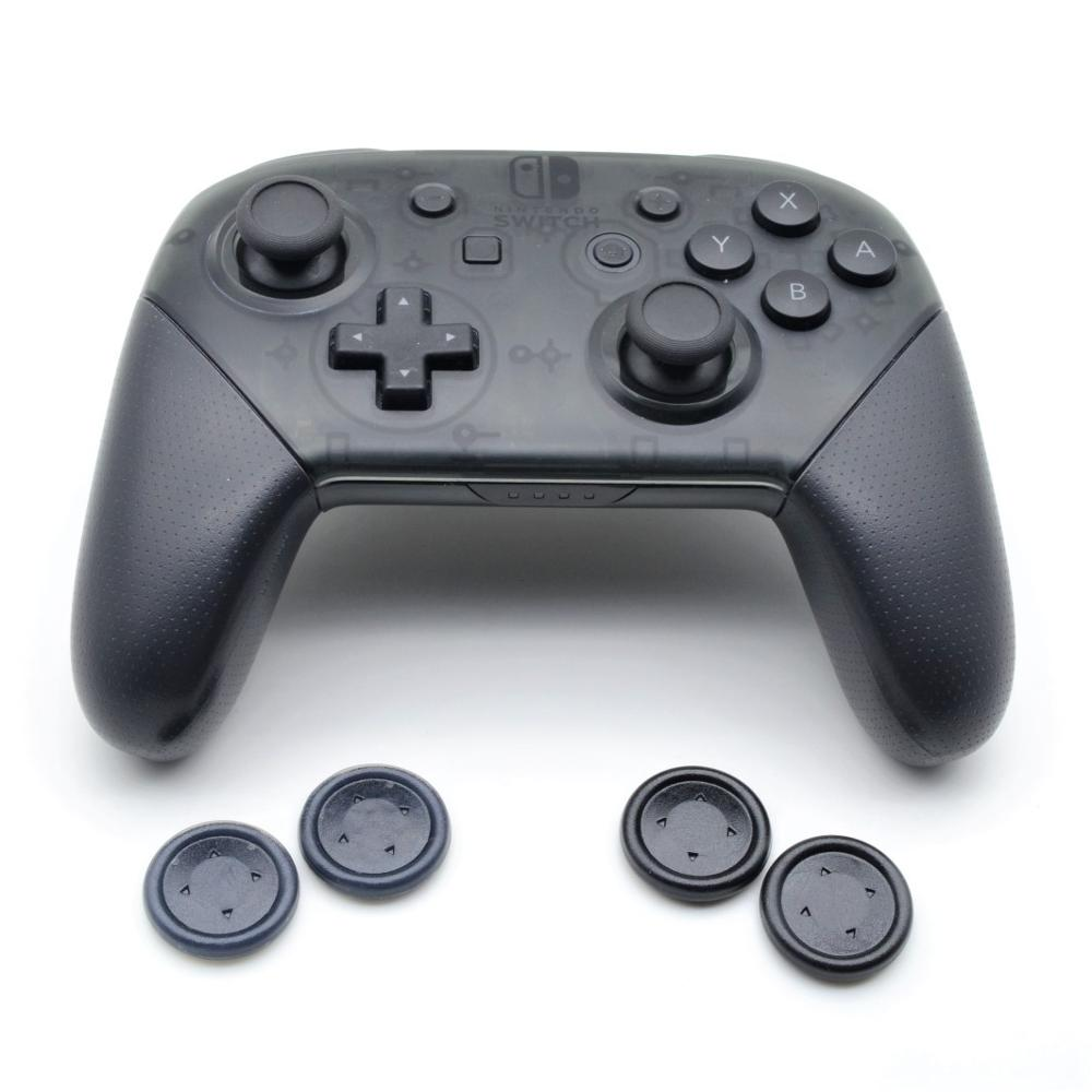 Removable Skidproof Round Dpad Direction Key Cap PS Flat <font><b>D</b></font> <font><b>Pad</b></font> Cross Button with 3M Sticker for <font><b>Nintend</b></font> NS <font><b>Switch</b></font> Pro Controller image