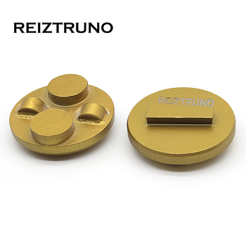 REIZTRUNO Trapezoid Floor Snap on pcd grinding Scanmaskin pcd tools  Diamond Grinding Shoes for Concrete Epoxy Removal 4 diamond pcd cup wheel 5 pcs per package free shipping 100mm epoxy coating removal tools 4 segments