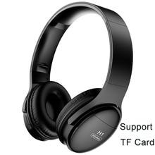 H1 Bluetooth אוזניות V5.0 אלחוטי HD HIFI סטריאו הפחתת רעש אוזניות משחקים מקצועיים עם TF כרטיס חריץ אוזניות