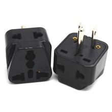 Universele Europese Amerikaanse Ac Power Adapter Plug Vs Kr Au Uk Eu Us Travel Plug Adapter Japan Type B zwart Wit Ce Koper