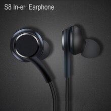 Auriculares internos con micrófono para Samsung Galaxy S8, s9, teléfono inteligente, negro, 3,5mm, AKG