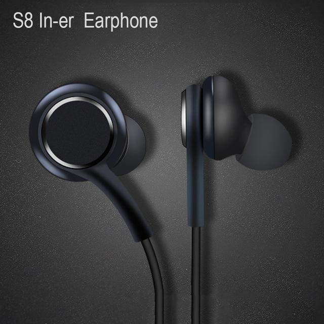 Oortelefoon Zwart 3.5Mm In Ear Met Microfoon Draad Headset Voor Samsung Galaxy S8 S9 Smartphone Hoofdtelefoon Akg
