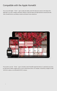 Image 4 - Aqara 9W E27 2700K 6500K 806lum Smart White Color LED Bulb Light Work With Home Kit And MIjia app