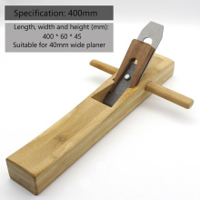 Carpenter's Tool 400mm Bamboo Hand Planer  Carpenter's Planer  Edge Planer  Handle Polishing Planer