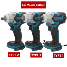 18V 520N.m/280 N.m Cordless Electric Impact Wrench Motor 1/2\