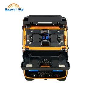 Image 3 - AI 9 Automatic SM&MM Multi language Intelligent FTTH Fiber Optic Splicing Machine Optical Fiber Fusion Splicer