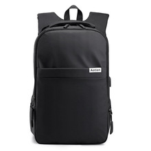 Cross-Border New Style Backpack Korean-style Casual Large-Volume Anti-Resistant Light Brigade USB Travel-Style Computer Bag