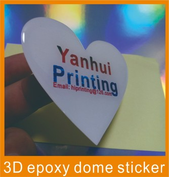 9 more designs Self-Adhesive New Style Doming Resin  Sticker Printing
