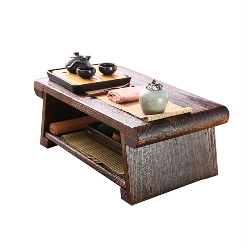50X30X20 CM Folding Low Floor Table Modern Minimalist Compact Tatami Coffee Table Wooden Japanese Tea Table For Living Room F602