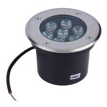 7 Вт светодиодный водонепроницаемый наружный на земле садовый дорожка прожектор ландшафтный светильник DC 12 В
