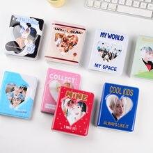 Álbum de desenhos animados bolsos claros detém 36 mini fotos instax álbum de fotos para fuji instax & cartão de nome 7s 8 25 50s mini álbum de fotos