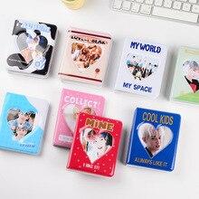 Cartoon Album Clear Pockets Holds 36 Mini Photos Instax Photo Album for Fuji Instax & Name Card 7s 8 25 50s Mini Photo Album