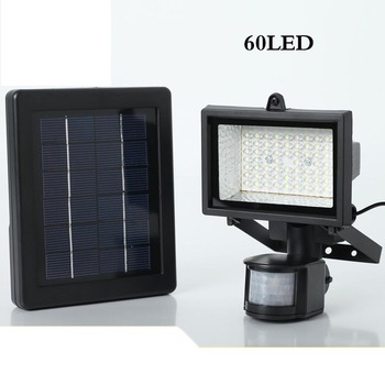 Solar energy lamp Domestic lighting body induction led project-light lamp 60 polysilicon