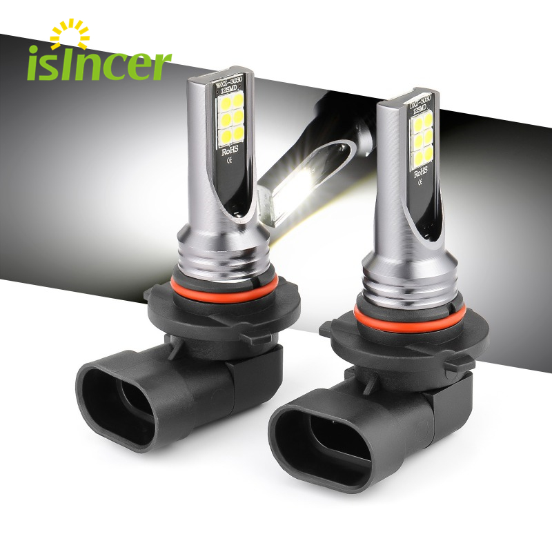 H8 H9 H1 H3 Led H4 H7 H11 9005 HB3 9006 HB4 Car CSP LED Fog Headlight Bulbs 6000K White Auto Fog Lamp Day Running Light
