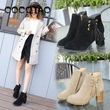 The Woman In Summer Of 2019 New Boots With Rubber High Fashion A Short Tube Tip Side35
