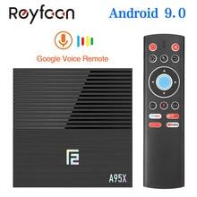 Smart TV Box Android 9.0 A95X F2 Amlogic S905X2 4GB 64GB 32GB Support 2.4G 5G Dual Wifi 1080p 4K pfs Google Player TVBOX A95XF2
