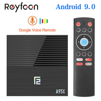 Smart TV Box Android 9.0 A95X F2 Amlogic S905X3 4GB 64GB 32GB Support 2.4G 5G Dual Wifi 1080p 4K pfs Google Player TVBOX A95XF2
