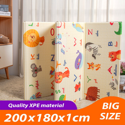 Alfombra de espuma XPE para juegos de bebés, alfombra para niños, Alfombra de puzle plegable, alfombra suave para suelo, manta para niños, juguetes para niños que gatean