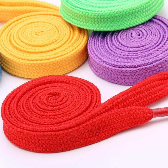 Фото 1 пара повседневных шнурков 12 цветов 80 см 120 140 мужские/женские цена