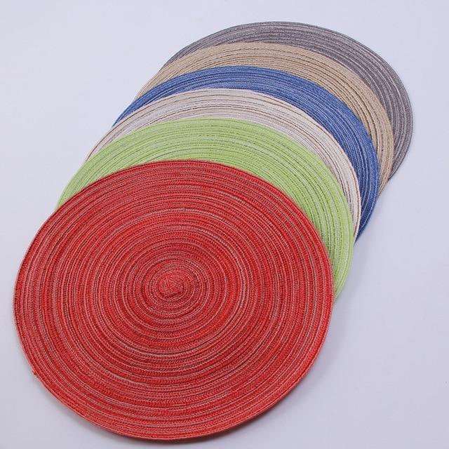 4 шт полипропиленовые коврики для кухонного стола фотография