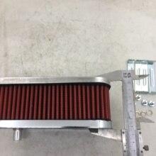 SherryBerg FAJS منقي هواء هواء لـ emi WEBER CARB carburetor carburettor 32/ 36 DGEV DFEV DGV DGAV DGAS كروم فلتر هواء 65 مللي متر