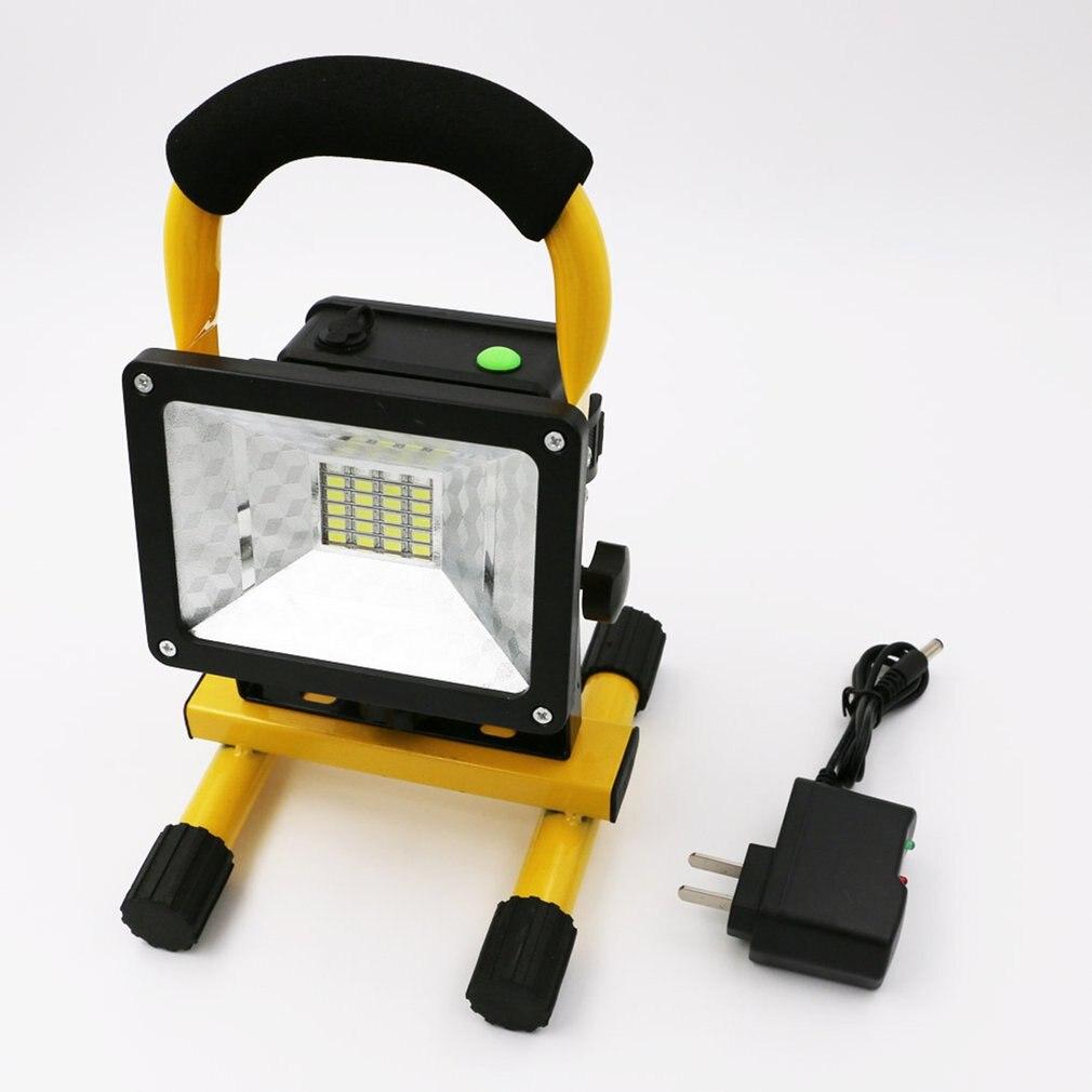 2400LM LED Portable Spotlight Camping Light Searchlight Rechargeable Handheld Work Light Portable Lantern