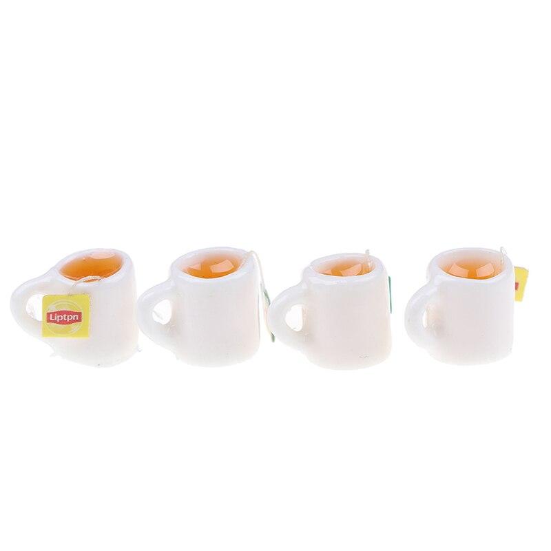 Casa De Muñecas Frappe Taza Con Paja para llevar Bebida Café en Miniatura Accesorio Tienda